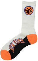 For Bare Feet New York Knicks Crew Socks