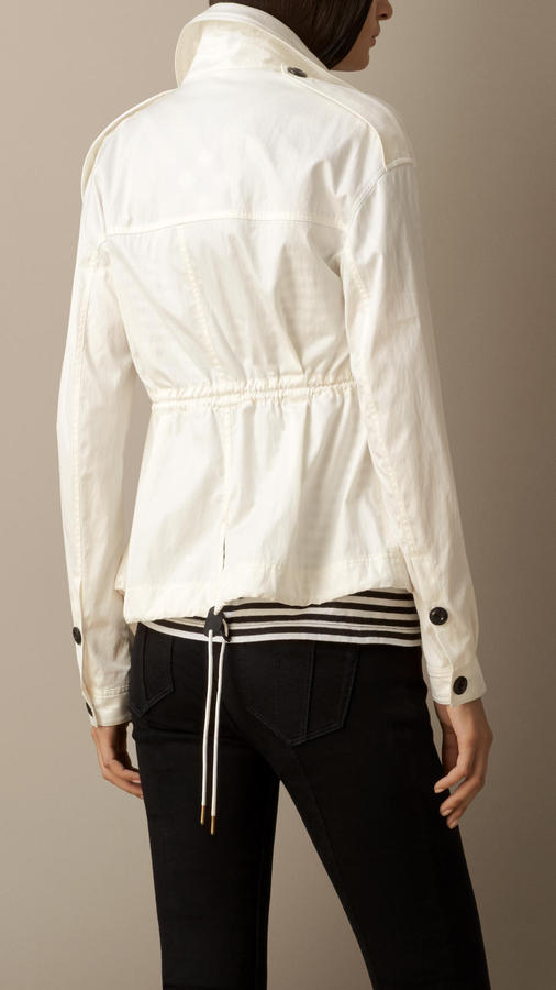 Burberry Technical Cotton Field Jacket