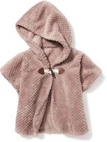 Old Navy Hooded Sherpa Poncho for Toddler