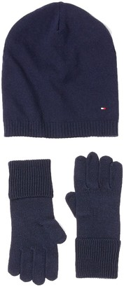 Tommy Hilfiger Women's New Odine Beanie Giftpack Hat and Glove Set