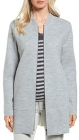 Eileen Fisher Women's Long Bomber Jacket