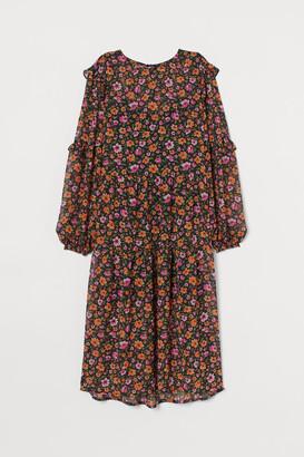 H&M Frill-trimmed dress