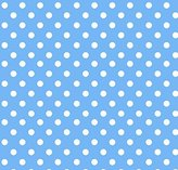 Stokke SheetWorld Fitted Oval Crib Sheet Sleepi) - Primary Polka Dots Blue Woven - Made In USA - 26 inches x 47 inches (66 cm x 119.4 cm)
