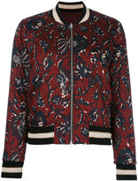 Etoile Isabel Marant Dabney bomber jacket - women - Cotton/Polyester/Viscose - 32