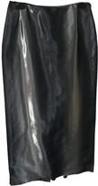 Jean Paul Gaultier Grey Silk Skirts