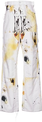 Off-White Futura Abstract Carpenter Jeans