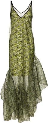 Brøgger Marianne layered organza gown