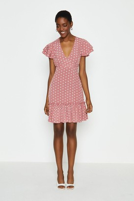 Coast Spotty Wrap Dress