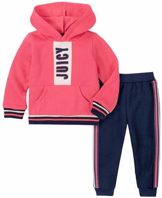 Juicy Couture Girls' 2 Pieces Jog Set Pants