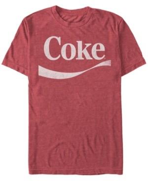 Coca Cola Coca-Cola Men's Classic Vintage-Like Swoosh Short Sleeve T-Shirt
