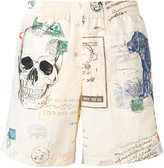 Alexander McQueen Letters from India swim shorts - men - Polyamide - L
