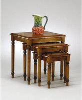 Knob Hill Office Star 3-piece Nesting Table Set