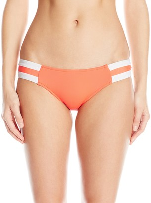 Seafolly Women's Block Party Spliced Hipster Bikini Bottom