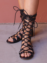 West Coast Wardrobe Friday Gladiator Sandal in Black