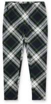 Ralph Lauren Plaid Stretch Jersey Legging Navy/Green Multi Xl