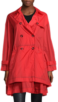 RED Valentino Tiered A Line Trench Coat