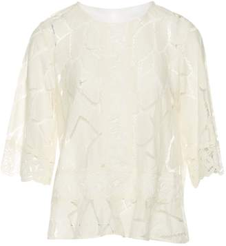 IRO Beige Cotton Tops