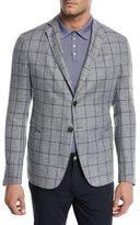 Emporio Armani Windowpane Soft Jacket