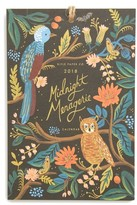 Rifle Paper Co. 2018 Midnight Menagerie Calendar - White