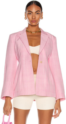 Jacquemus La Veste Novio in Light Pink | FWRD