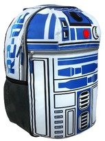 """Star Wars 16"""" R2D2 On Patrol with Sound and Lights Kids Backpack - Blue"""