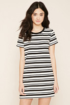 Forever 21 Striped T-Shirt Dress