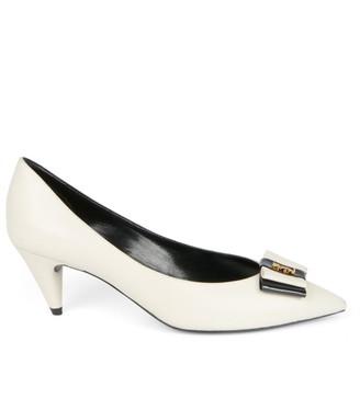 Saint Laurent Pierrot Leather Pumps