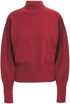 Brunello Cucinelli Ribbed Cashmere Turtleneck Sweater
