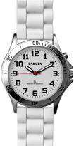 Dakota Women's Silicone Color Watch, White 53881