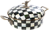 Mackenzie Childs MacKenzie-Childs - Courtly Check Enamel Casserole Dish - Large