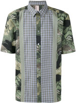 Antonio Marras floral checkered shirt
