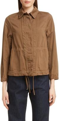 Dries Van Noten Varella Cinched Cotton Field Jacket