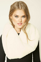 Forever 21 FOREVER 21+ Faux Fur Infinity Scarf