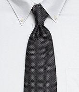 Murano Big & Tall Twin-Print Narrow Silk Tie