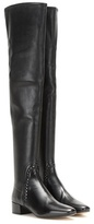 Francesco Russo Leather Over-the-knee Boots