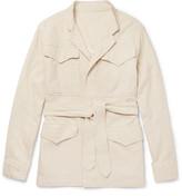 Eidos - Cotton And Linen-blend Field Jacket