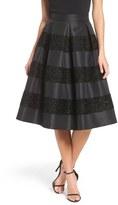 Eliza J Jacquard Midi Skirt