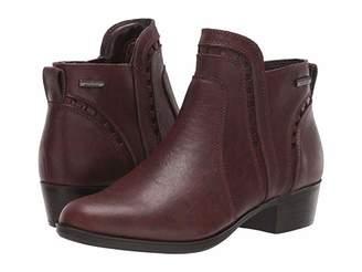 Cobb Hill Oliana Cut Out Boot Waterproof (Black) Women's Shoes