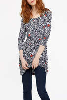 Joules Printed Jersey Tunic Top