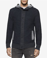 Calvin Klein Jeans Men's Terry Cardigan Sweater