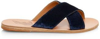 Ancient Greek Sandals Thais Leather Slides