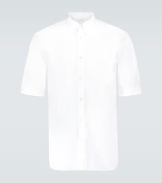 Alexander McQueen Brad Pitt cotton shirt