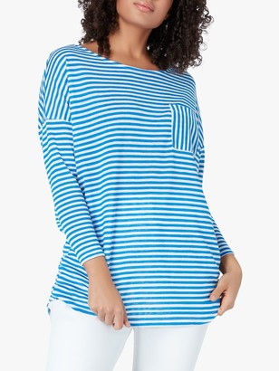 Live Unlimited Curve Stripe Top