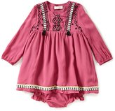 Jessica Simpson Baby Girls 12-24 Months Embroidered Long-Sleeve Dress