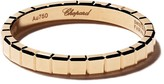 Chopard 18kt yellow gold Ice Cube Pure ring