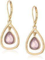 """lonna & lilly Touch of Twilight"""" Gold-Tone/ Orbital Drop Earrings"""