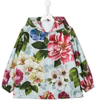 Dolce & Gabbana Kids Floral Print Jacket