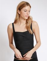 Marks and Spencer Twisted Bandeau Tankini Top