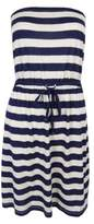 Tommy Hilfiger Women's Striped Strapless Dress (Eclipse Print, XS)
