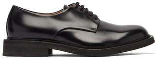 Bottega Veneta Leather Derby Shoes - Black